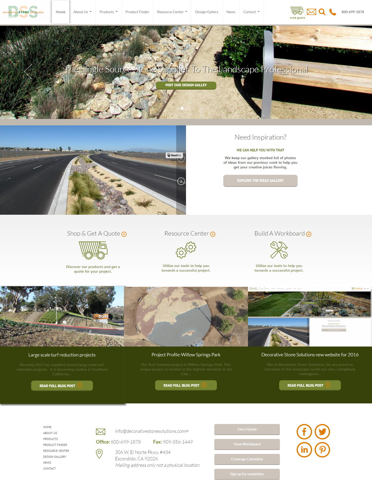 Decorative Stone Solutions Ctd Web Designs